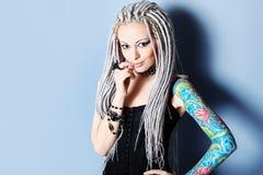 tatuering Arkivfoto