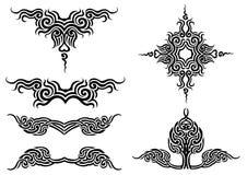 tatuering vektor illustrationer