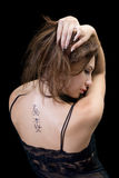 tatuering Arkivbild