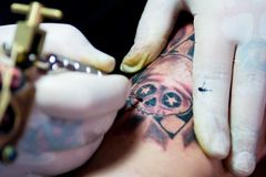 Tatuering Royaltyfria Bilder