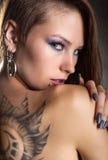 Tatuering och piercings Royaltyfri Foto