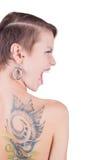 Tatueringar och piercings Royaltyfri Fotografi