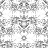 Tatuujący ręka wzór ilustracja wektor