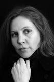 όμορφη γυναίκα πορτρέτου &tau Στοκ Εικόνα