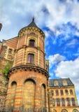 Tau Palace in Angers, Frankrijk Stock Fotografie