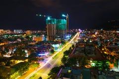 Tau van nachtvung, Vietnam stock fotografie