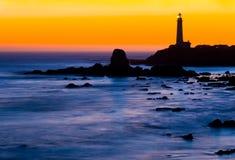 Taube-Punkt-Leuchtturm Lizenzfreie Stockfotografie