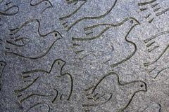 Tauben des Friedens Stockbild