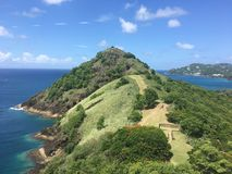 Tauben-Nationalpark St Lucia lizenzfreies stockfoto