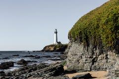 Tauben-Punkt-Leuchtturm Stockbild