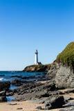Tauben-Punkt-Leuchtturm Stockfoto