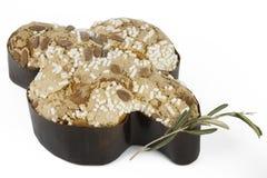 Taubenostern-Kuchen Stockfoto