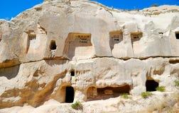 Taubenschläge in Cappadocia Lizenzfreies Stockfoto