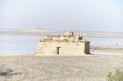 Taubenschlag in den Ruinen Lizenzfreies Stockbild