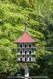 Taubenschlag im Röhrenseepark Bayreuth Stockbilder