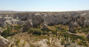 Taubental, Cappadocia die Türkei stock video