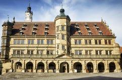 Tauber del der del ob di Rothenburg Fotografia Stock Libera da Diritti