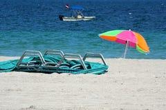 Tauchenboot vor der Küste von Dania Beach im Fort Lauderdale, Florida Lizenzfreies Stockfoto