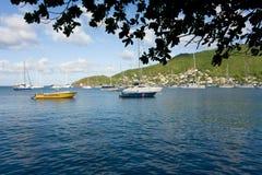 Tauchenboote, die am Weihnachtstag stillstehen Lizenzfreie Stockfotografie