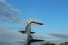 Tauchturm Stockbild