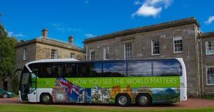 Tauck wycieczka turysyczna Buss zdjęcie royalty free