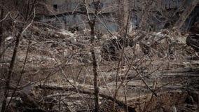 Taudis, bâtiments abandonnés 3 banque de vidéos