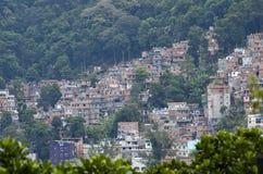 Taudis de Favela à Rio de Janerio, Brésil Image stock