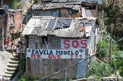 Taudis de Santa Marta photographie stock