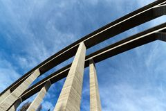 Tauern-Datenbahn Brücke Lizenzfreies Stockbild
