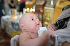 Taufezeremonie stockfoto