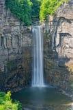 Taughannock cai nos Estados de Nova Iorque Fotografia de Stock