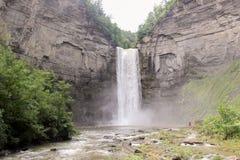 taughannock för fallsparktillstånd royaltyfri bild