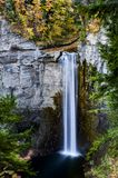 Taughannock Falls & Gorge - Autumn Colors - Ithaca, New York Royalty Free Stock Image