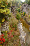 Taughannock Falls Gorge Royalty Free Stock Photography