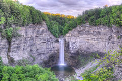 Taughannock Falls, NY. Taughannock Falls in the state park of the same name found in the Finger Lakes (Cayuga) region of upstate New York. Higher than that of Royalty Free Stock Images
