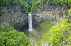 Taughannock Falls. View at Taughannock Falls - Taughannock Falls State Park, New York Stock Photos