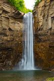 Taughannock Falls in Western New York. Taughannock Falls is located in the Finger Lakes area near the town of Ulysses in Tompkins County, New York, USA. The main Royalty Free Stock Image