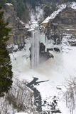 Taughannock Falls in the Winter Royalty Free Stock Photos