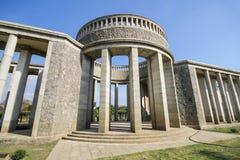 Taukkyan战争公墓在仰光,缅甸 免版税库存照片