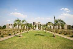 Taukkyan战争公墓在仰光,缅甸 库存图片