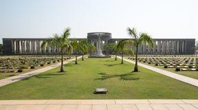 Taukkyan-Kriegs-Kirchhof in Rangun Lizenzfreie Stockfotos