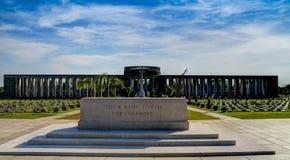 Taukkyan War Cemetery near Yangon, Myanmar Royalty Free Stock Images