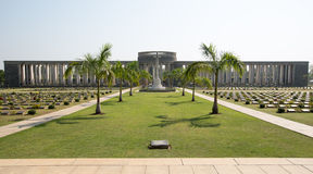 Taukkyan War Cemetery in Yangon Royalty Free Stock Photos
