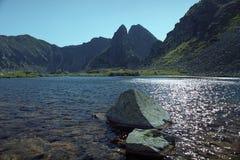 Taul Portii. A lake frrom National Park Retezat, Romania Royalty Free Stock Images