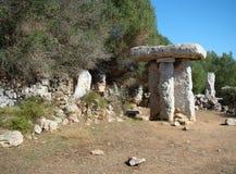 Taula in Torre Trencada, Menorca Royalty Free Stock Photography