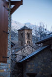 Taull kyrkligt torn Royaltyfria Foton