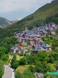 Taull, Vall de Boi, Alta Ribagorca La Catalogna, Spagna, Fotografie Stock Libere da Diritti