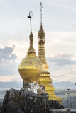 Taung Kwe Pagoda. Located in Loikaw, Kayah State, Burma, Myanmar, Southeast Asia royalty free stock image