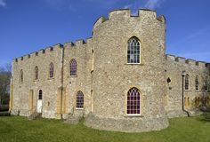 Taunton Castle στοκ εικόνα με δικαίωμα ελεύθερης χρήσης