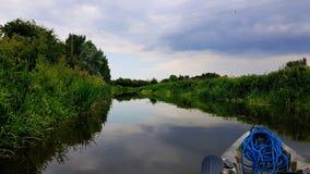 Taunton e canale Somerset di Bridgwater Immagine Stock